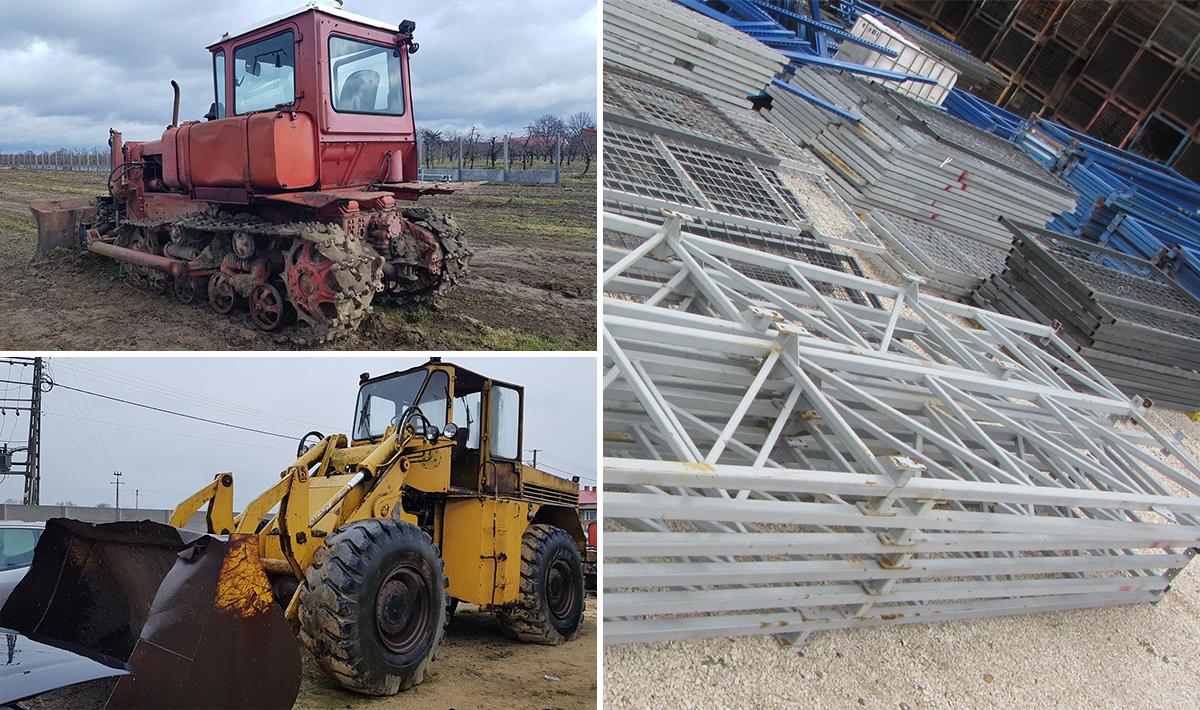 sprzedaż maszyn i części, skup złomu Tarnobrzeg kasacja samochodów Sandomierz.jpg